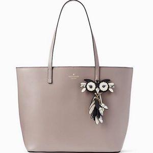 Brand New Kate Spade Owl Little Len Leather Bag